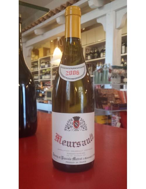 Vino Domaine Pierre Matrot MEURSAULT 2006 cl 75