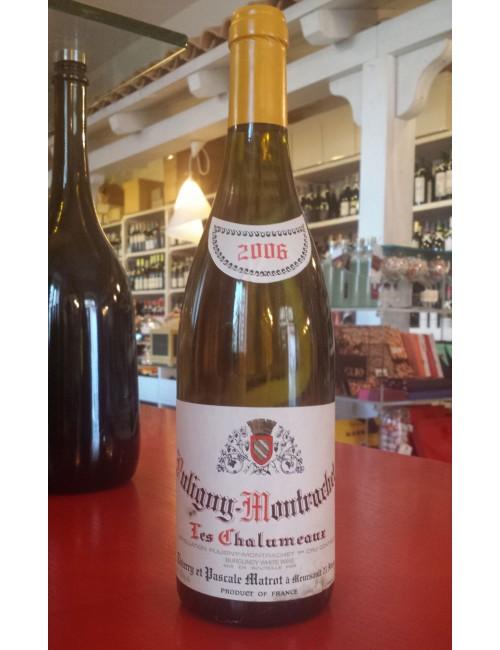 Vino Domaine Pierre Matrot 1er cru Puligny - Montrachet Les Chalumeaux 2006 cl 75