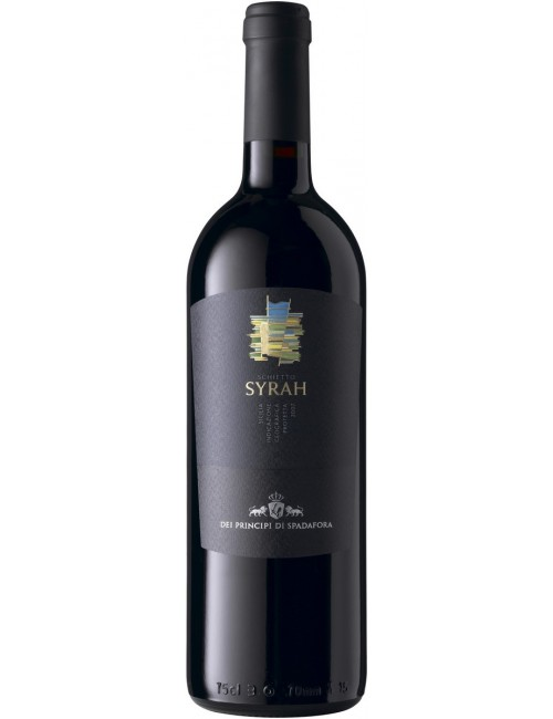 SCHIETTO SYRAH Biologico Igp 75 cl