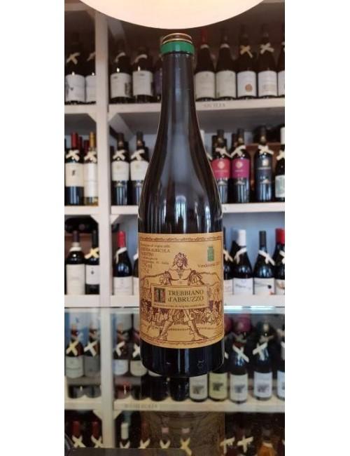 Vino bianco abruzzese TREBBIANO 2015 cl 75