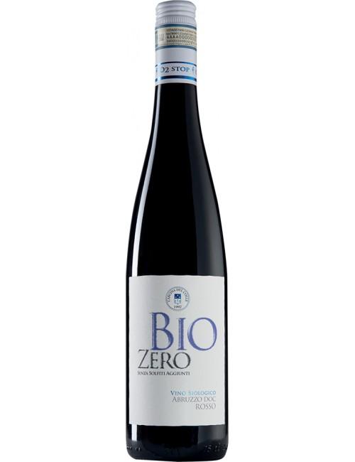 Bio Zero Rosso Senza Solfiti Aggiunti Abruzzo D.O.C. Rosso