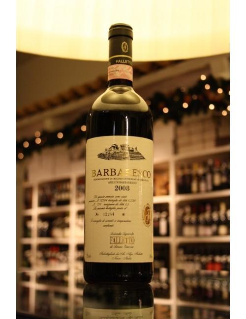 Vino rosso piemontese Falletto BARBARESCO ASILI 2008 cl 75