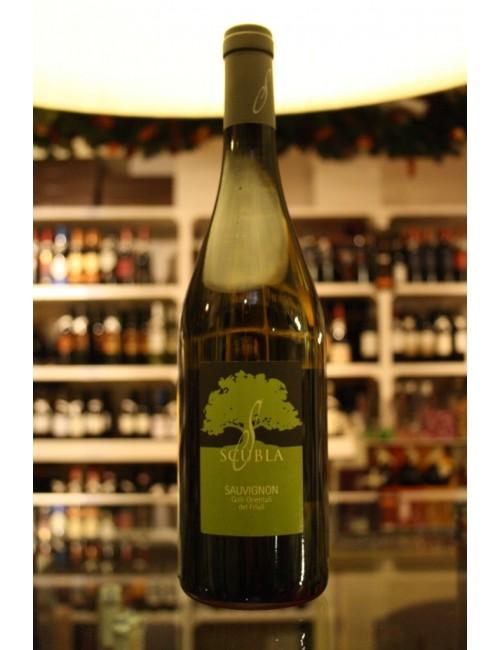 Vino bianco friulano Scubla SAUVIGNON cl. 75