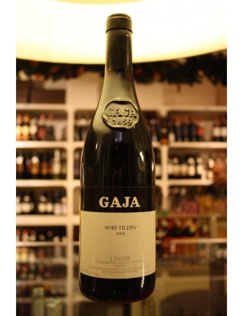 Vino rosso piemontese Gaja SORI' TILDIN LANGHE NEBBIOLO DOC '04 cl. 75