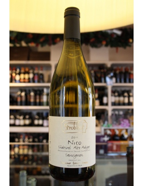 Vino bianco altoatesino Stroblhof Sauvignon NICO cl 75