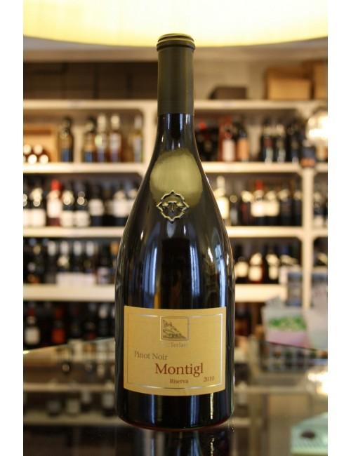 Vino rosso altoatesino Cantina Terlan MONTIGL PINOT NERO RIS. DOC cl 75