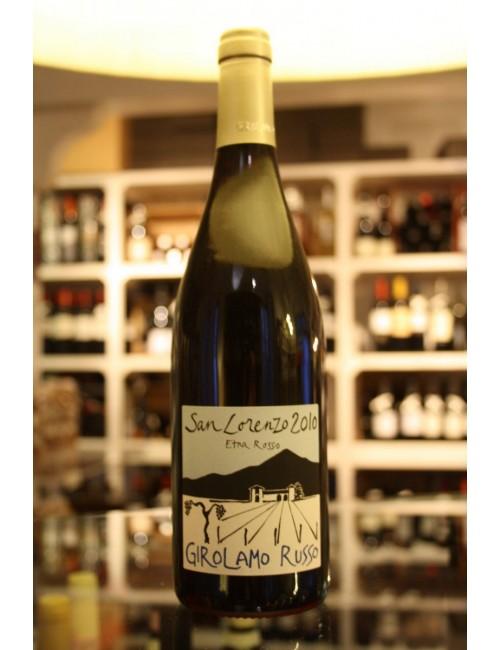Vino bianco siciliano Girolamo Russo SAN LORENZO 2010 Etna Rosso cl 75