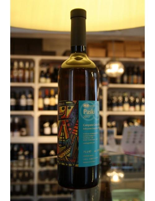 Vino bianco campano Cantina Giardino PASKI 2011 Campania Coda di Volpe IGP cl 75