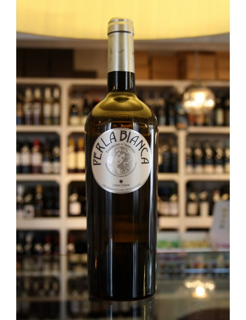 Vino bianco abruzzese Chiusa Grande PERLA BIANCA trebbiano cl. 75
