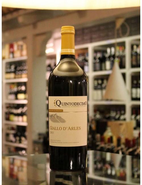Vino bianco campano Quinto Decimo GIALLO D'ARLES - Greco di Tufo docg 2012 cl 75
